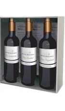 Caja Regalo Premium 3 botellas de Vinos de Pago