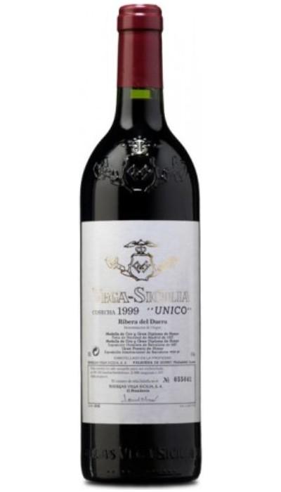 Vega Sicilia único Gran Reserva 1999