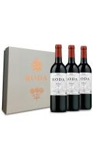 Estuche Premium 3 botellas Roda Reserva 2012