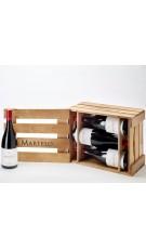Estuche Madera 6 botellas Martelo 2014