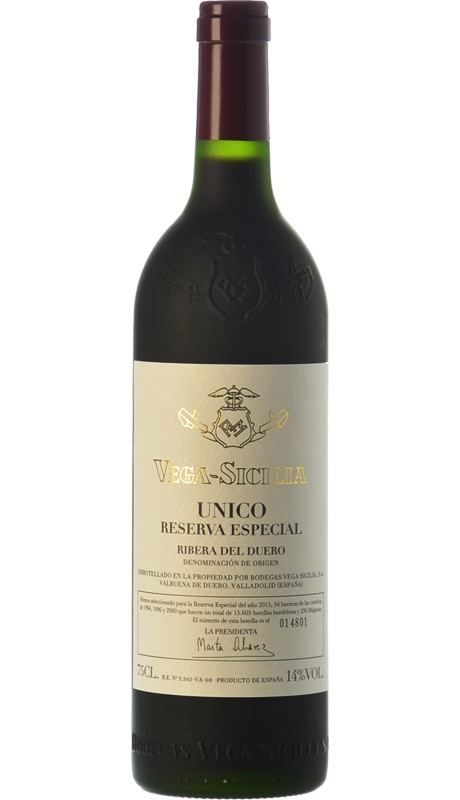 Vega Sicilia único Reserva Especial 2017 Vino Tinto Ribera Del Duero