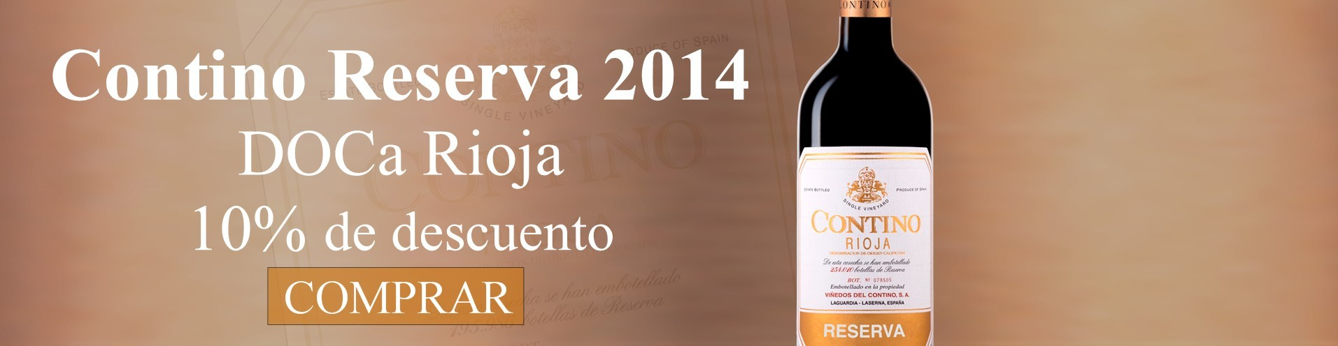 Contino Reserva 2014 - Vino Tinto Rioja Alavesa