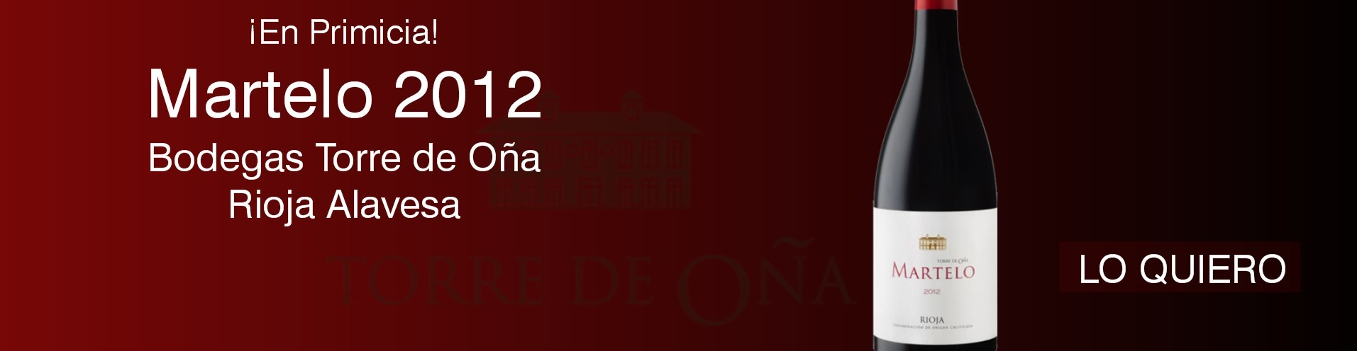 Martelo Reserva 2012 - Vino Tinto Ribeira Sacra